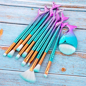 Mermaid Brush Set - Veroniques Collection