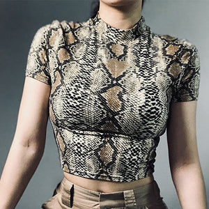 Snake Print Tank Top - Veroniques Collection