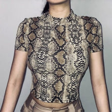 Load image into Gallery viewer, Snake Print Tank Top - Veroniques Collection