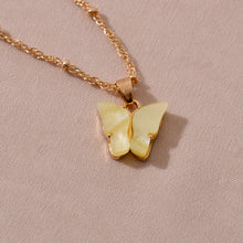 Load image into Gallery viewer, Butterfly Pendant Necklace - Veroniques Collection