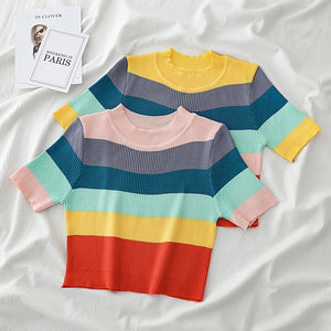 Rainbow Top - Veroniques Collection