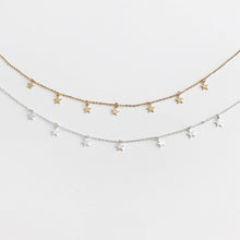 Load image into Gallery viewer, Falling Stars Necklace - Veronique Collection