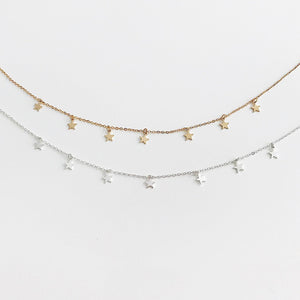Falling Stars Necklace - Veronique Collection