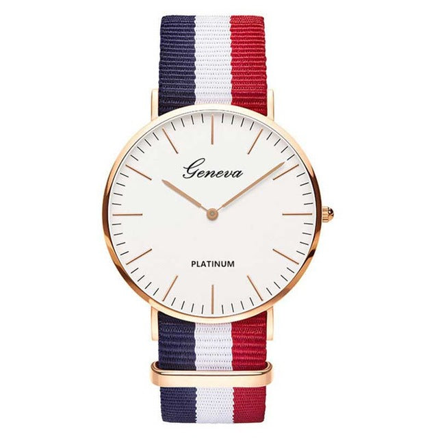 Geneve Nylon Watch - Veroniques Collection
