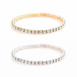 4 in 1 Crystal Bracelets Pack - Veronique Collection