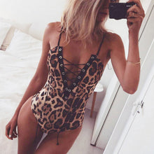 Load image into Gallery viewer, Leopard Bodysuit - Veroniques Collection