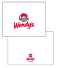 MCS-008 - Wendy's Logo Note Card