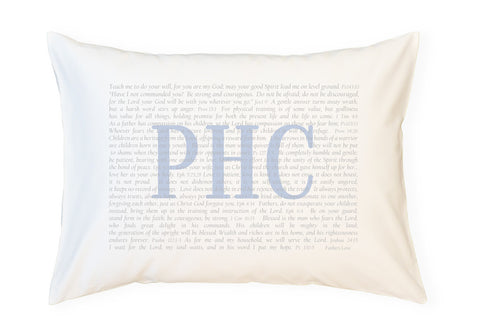 PillowGrace Scripture Pillowcase for Dads Fathers Day Gift