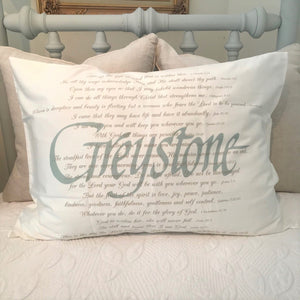 OUTLET - Greystone Sample - Cotton Standard Pillowcase