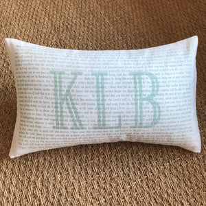 OUTLET - Scripture for the Spiritual Toolbox Sample - KLB - Cotton Boudoir