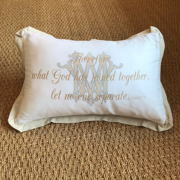 OUTLET - Mark 10:9 Sample - WM / MW - Cotton Boudoir with Flange Trim