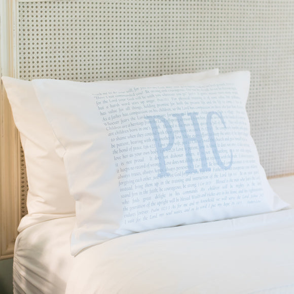 OUTLET - Scripture for Fathers Sample - PHC - Standard Pillowcase