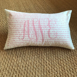 OUTLET - Scripture for Mothers Sample - aWe, AEW - Cotton Boudoir