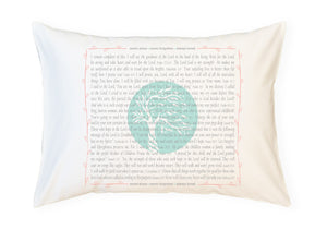 PillowGrace Project + Abiding Love Adoptions - Scripture for In the Waiting - Standard Pillowcase