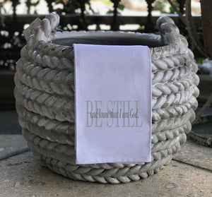 Be Still - Hand Towel