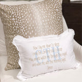 Bedtime Blessing - Boudoir Pillow