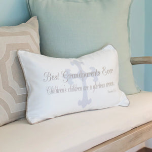 Best Grandparents Ever - Boudoir Pillow