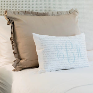 Scripture Pillow for Anxiety, Illness, Cancer, Grief, Comfort, Encouragement