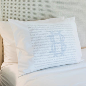 Scripture for Comfort (Cast) - Standard Pillowcase