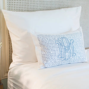 Scripture for Fathers - Boudoir Pillow