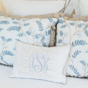 Scripture for Friendship - Boudoir Pillow