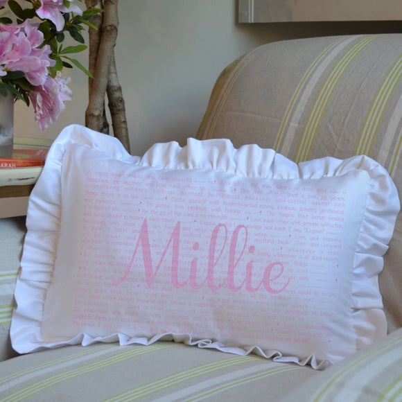 Scripture for the Happy Heart (Ballet) - Boudoir Pillow