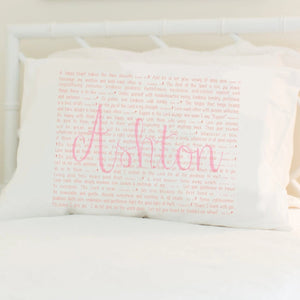 Scripture for the Happy Heart (Ballet) - Standard Pillowcase