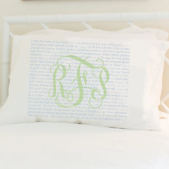 Scripture for the Happy Heart (Soccer) - Standard Pillowcase
