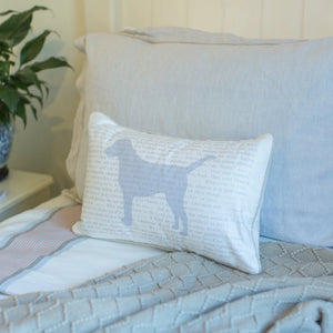 Scripture for the Happy Heart (Pedigree) - Boudoir Pillow