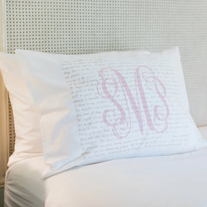 Scripture for the Happy Heart - Standard Pillowcase
