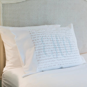 Scripture for In the Morning - Standard Pillowcase