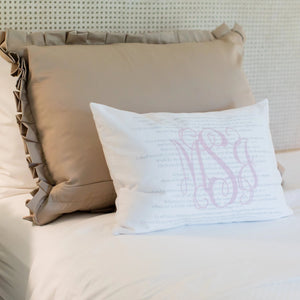 Scripture for Integrity - Boudoir Pillow
