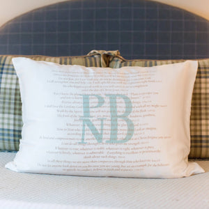 Scripture for Integrity - Standard Pillowcase