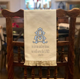 Joshua 24:15 - Hand Towel with Frill