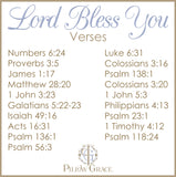 Lord Bless You (Anchor) - Standard Pillowcase