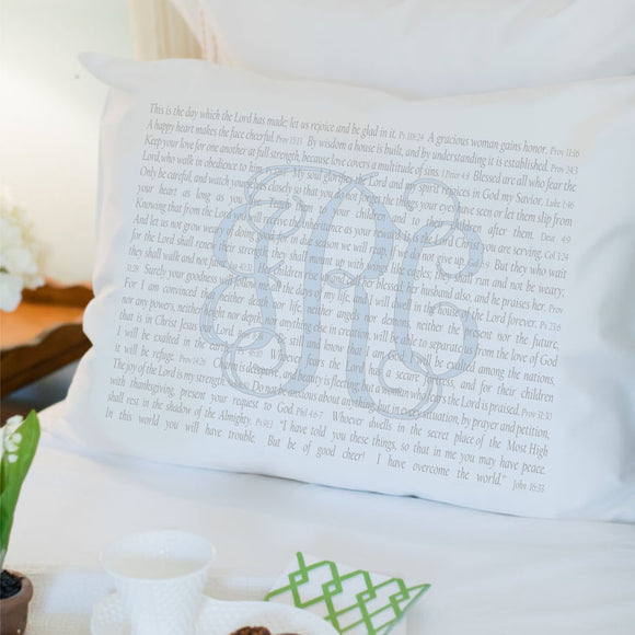 Mother's Day Exclusive - Scripture for Mother's Love - Standard Pillowcase