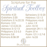 Scripture for the Spiritual Toolbox - Standard Pillowcase