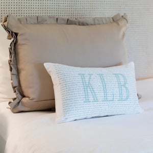 Scripture for the Spiritual Toolbox - Boudoir Pillow
