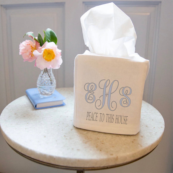Peace Be To This House - Tissue Box Cover