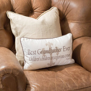 Best Grandfather Ever - Boudoir Pillow