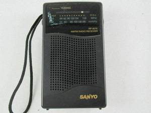 Vintage Sanyo RP5070 Personal AM/FM Radio Receiver Tested Working