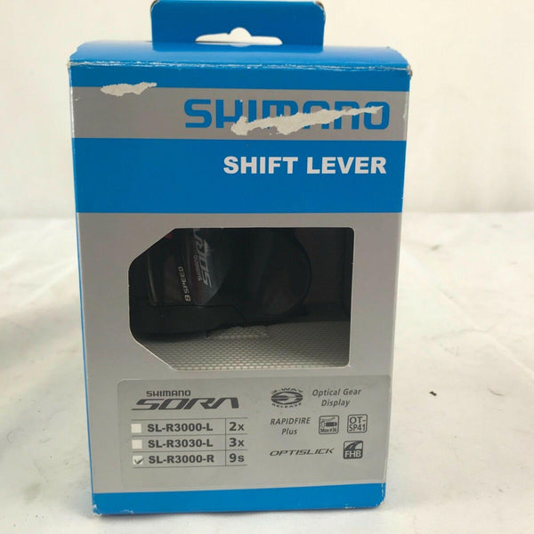 New Shimano Sora Right Shift Lever 9 Speed Shifter SL-R3000-R Black