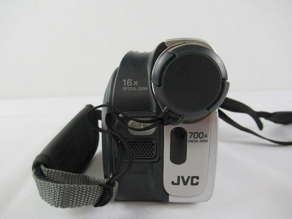 JVC GR-D72 Camcorder 700X Digital Zoom Signal Processing Super VHS with Accessor