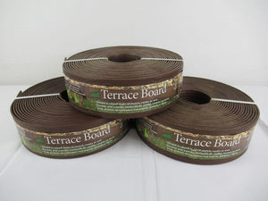"Master Mark Plastics 93340 Terrace Board Landscape Edging 3""x 40"" 3 Piece"