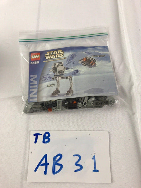 LEGO Star Wars 4486 AT-ST & Snowspeeder Mini Complete AB31