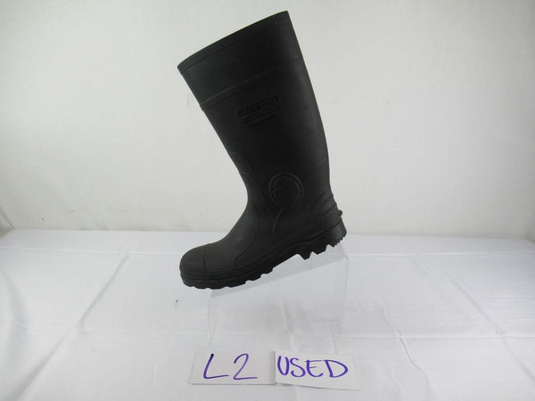 Genfoot Mens Industrial Steel Toe Slip Resistant Tall Hunting Muck Boot Size 8