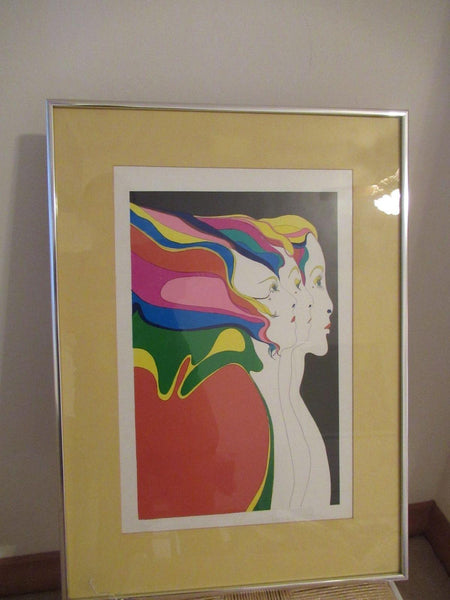John Eastmann Print 18.25 x 25 Framed Women Art Home Decor
