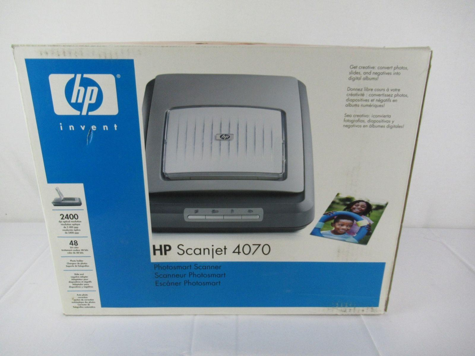 HP Invent ScanJet 4070 Photosmart Scanner New Open Box