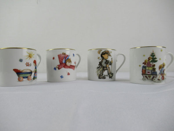 Schmid Child's Mug Cup from Authentic Painting by Sister Berta Hummel 12 pc