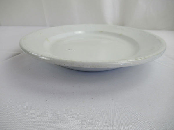 Vintage Hanley Stone China Oval Platter J.W. Pankhurst & Co. White